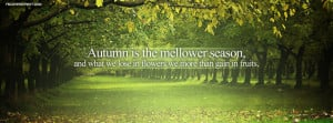 Autumn Is The Mellower Season Picture