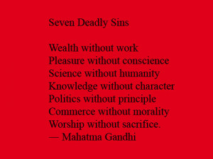 seven deadly sin quotes