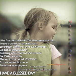 Good Morning Quotes for 23-05-2010