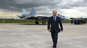 Широкоформатные обои Владимир Путин ...