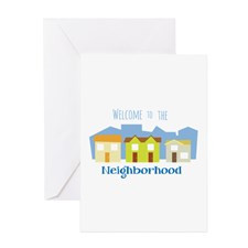 Neighborhood Welcome Greeting Cards for