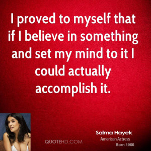 Believe In My Self Quotes