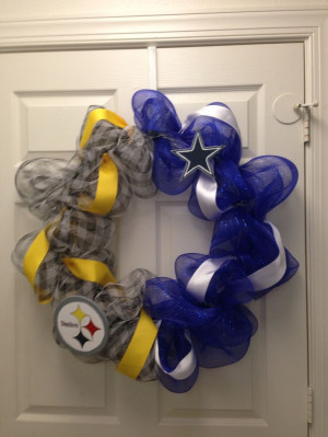 ... Steelers, Decor Ideas, Football Fanatic, Dividers Steelers Cowboy