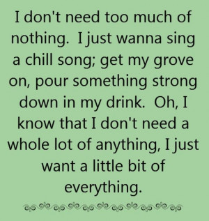 Keith Urban - Little Bit of Everything - song lyrics, song quotes ...