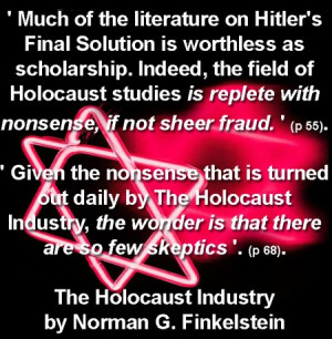The Holocaust Industry Quotes