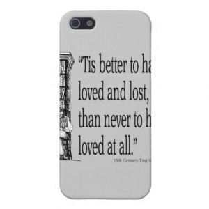 Old English Saying - Love - Quote Quotes Verses Case For iPhone 5