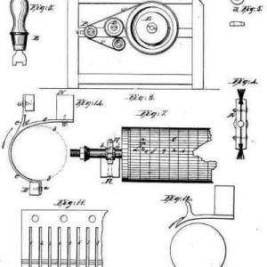 Eli Whitney Cotton Gin Patent