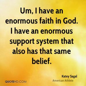 Katey Sagal Faith Quotes