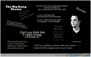 Sheldon Cooper Quotes And More