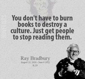 Fahrenheit 451 quotes, best, sayings, deep, read books
