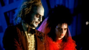 Still of Winona Ryder and Michael Keaton in Beetlejuice (1988)