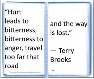 Terry Brooks ♥ ~ #Quote #Author #Hurt