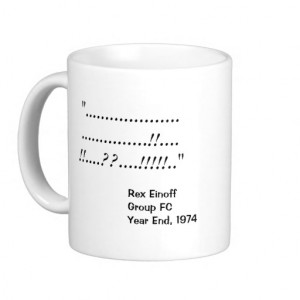 Famous Accounting Quotes - Personalisable Basic White Mug