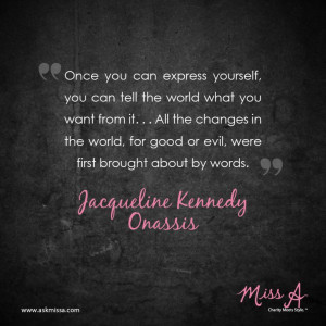 Jackie Kennedy Onassis quote