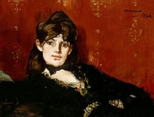 Edouard Manet, Portrait de Berthe Morisot étendue (1873)