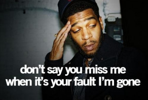 Rapper kid cudi quotes and sayings witty famous real fault