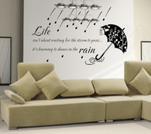 Details about LIFE INSPIRATION Wall Art Quote Decal