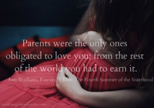 ... summer of the sisterhood #parents quotes #love quotes #parent picture