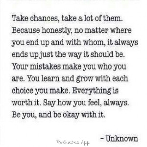 You will be ok...