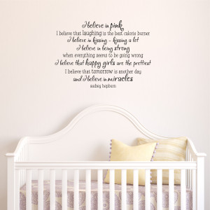 Girls Room Wall Quote #4