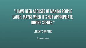 Accusing People Quotes