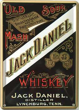Jack Daniels Old No. 7 Mini 35 cl. Tennessee Whiskey Sour Mash 40%