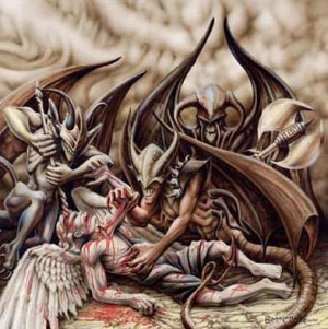 angels fighting demons pic