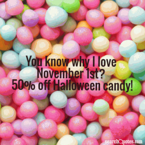 Halloween Candy Quotes