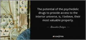 The potential of the psychedelic drugs to provide access to the ...