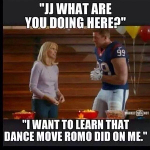 ... memes from Cowboys win over Texans (including dancing with J.J. Watt