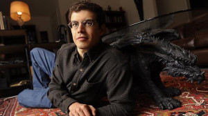 Author Christopher Paolini is visiting his Aussie fans. Source ...