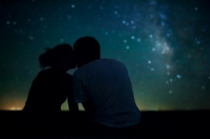 Love under the starry skies