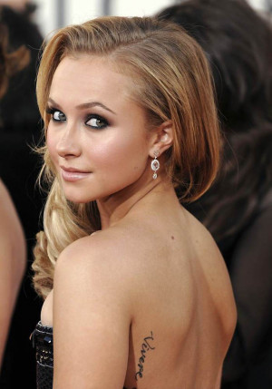 Hayden-Panettiere-Tattoo-Quote-on-Back