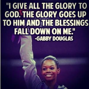 gabby #douglas #gymnast best olympic quote!