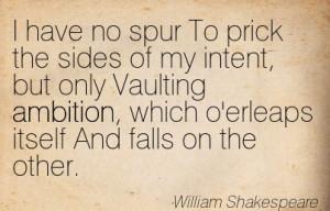Macbeth essay quotes ambition