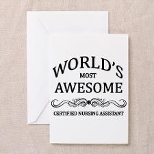 World's Most Awesome Certified Nursing Assistant G for