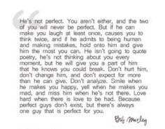 My sweet boyfriend sent me this quote last night after our ...