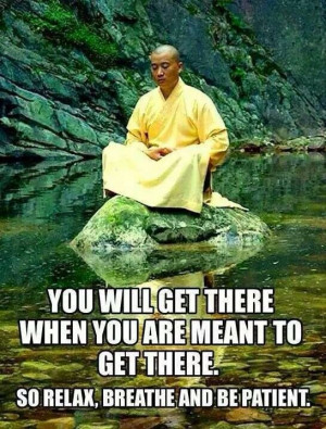 You will get there ...