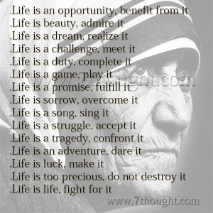 Mother Teresa Quotes, Inspirational Quotes