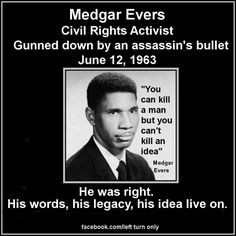 Medgar Evers More