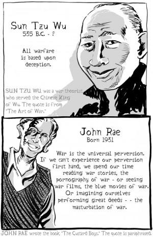 Sun Tzu Wu and John Rae on the subject of war