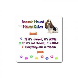 Details about BASSET HOUND DOG PUPPY UNIQUE FUNNY COMIC COMICAL SLOGAN ...