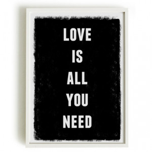 A4 Typography Poster quote print apartment by blackandtypeshop, $15.00