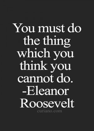 Famous quotes wise sayings eleanor roosevelt
