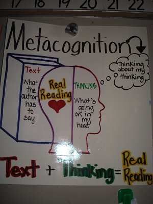 whole day is guided by metacognition thinking about our thinking
