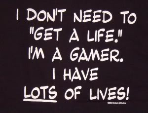 Thread: Gamer shirt quotes