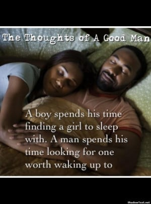 The Thoughts of a Good Man
