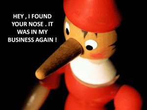 Nosey People Quotes Image