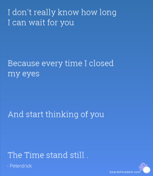 The Time stand still .