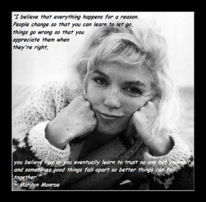 My favorite Marilyn Monroe quotes